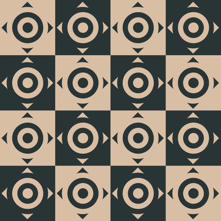 Stylish Geometric Pattern Background With Circles Standard-Bild - 118200586