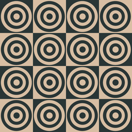 Stylish Geometric Pattern Background With Circles Standard-Bild - 118200589