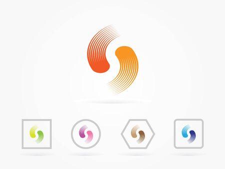 Vector illustration S Letter Colorful Logo Design