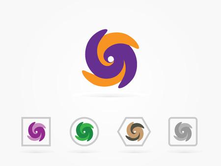 vector illustration abstract symbol of letter s Illustration