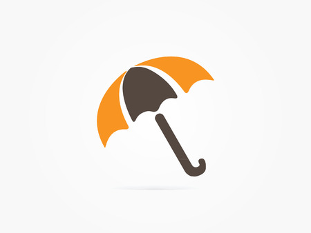 umbrela: Vector Illustration Umbrella icon or symbol design for website icon