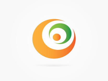 Vector Illustration Crescent moon star icon for businnes, website or app logo