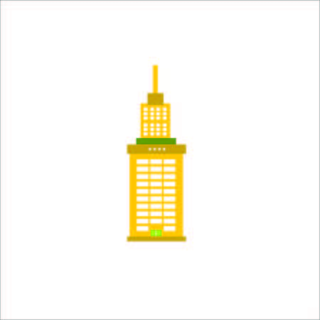 Vector Creative Illustration Tower Building logo color one tower , and more. Illustration