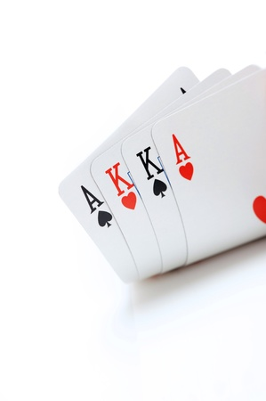 texas hold'em: winning omaha starting hand, aces and kings