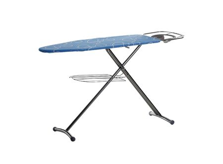 ironing board isolated on white background photo