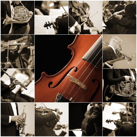 classical music collage photo