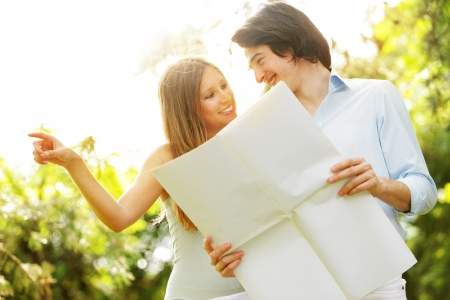 imagines: a young married couple imagines his new home