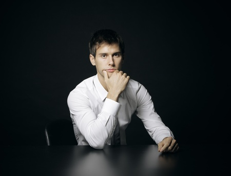 Portrait of a young businessman Stock Photo - 16141285