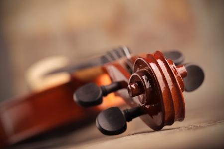 musica clasica: Cerca de un violín superficial profundidad de campo