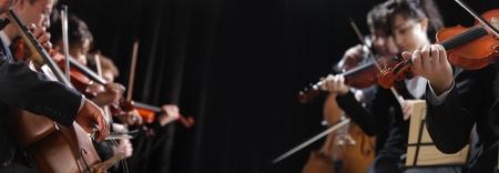 orquesta: Concierto sinf?nico, un hombre que toca el violonchelo, la mano de cerca