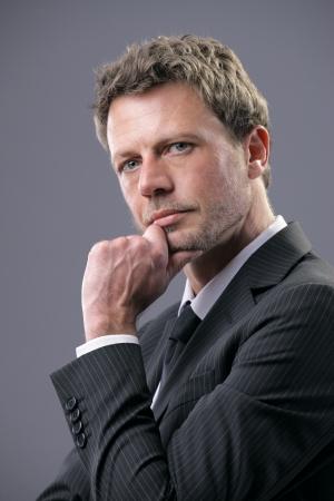 ceo: Portrait of a mature business man