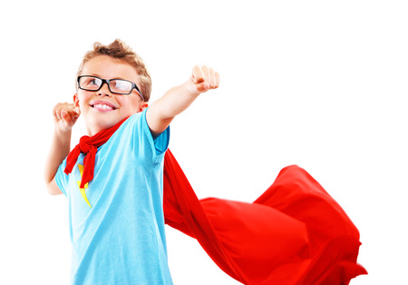 crime fighter: A little hero ready to save the world