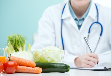 dietetics: Nutritionist Doctor is writing a diet plan