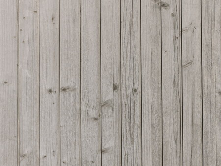 Weathered natural wooden planks flooring top view
