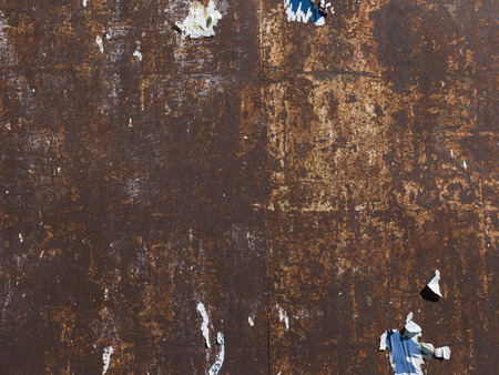 Grungy weathered metallic surface background: grunge vintage texture Standard-Bild - 116701777