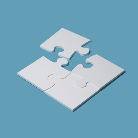 Completing a puzzle with the last piece: solution and strategy concept