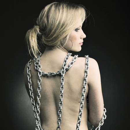 Women Wearing Waist Chains