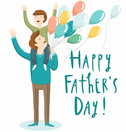 22,801 Fathers Day Cliparts, Stock Vector And Royalty Free Fathers ...