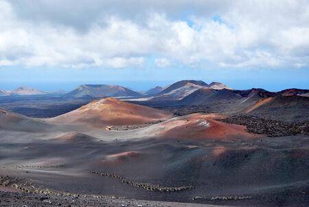 timanfaya: Timanfaya volcanoes national park Stock Photo