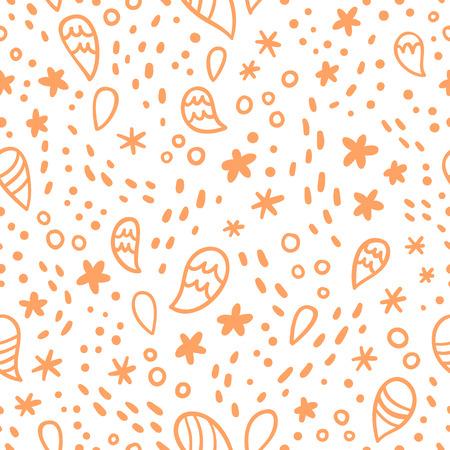 abstrakce: Abstrakce doodle legrace bezešvé vzor