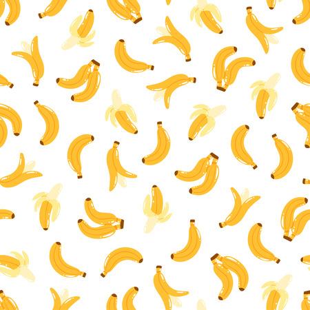 eating fruit: Pl�tano de impresi�n de fondo de fisuras