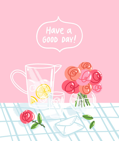 Have a good day, vector illustration Ilustração