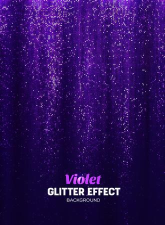Magie schitter achtergrond in paarse kleur. Vectorafficheachtergrond met Glanselementen. Stockfoto - 70129638