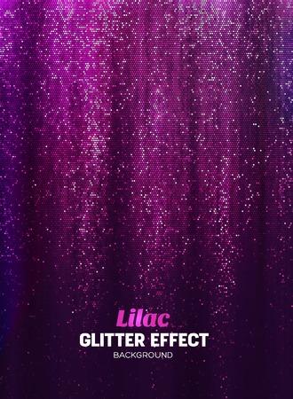 Magie schitter achtergrond in lila kleur. Vectorafficheachtergrond met Glanselementen. Stock Illustratie