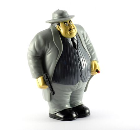 Gangster figure Stock Photo