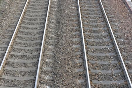 railway tracks Stock Photo - 4382059