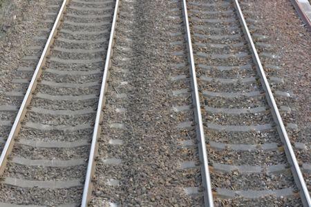 railway tracks Stock Photo - 4382059