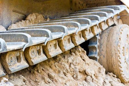 bulldoze: track bulldoze