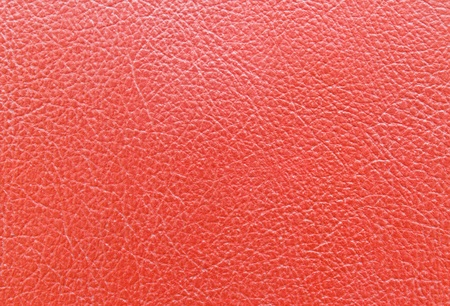 Red leather book cover texture background photo