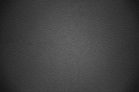 Black leather cover texture background photo