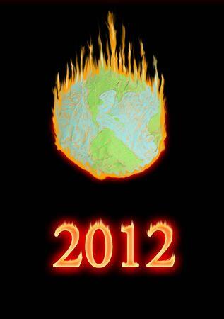 meridiano: Mundo falso en el fuego de 2012