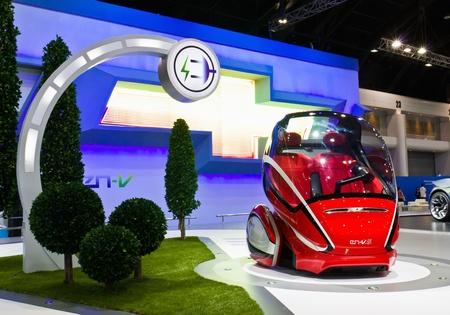 nontaburi: NONTABURI,THAILAND-DECEMBER,3: Chevrolet show their Concept car