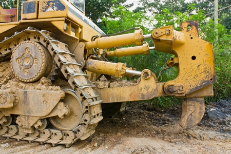Bulldozer Stock Photo - 12531218