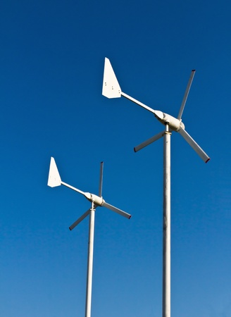 Wind energy turbine power station Stock Photo - 12530088