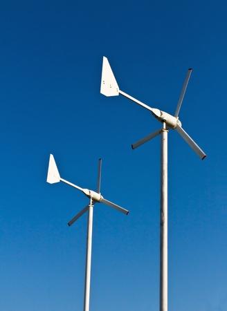 Wind energy turbine power station Stock Photo - 12530088