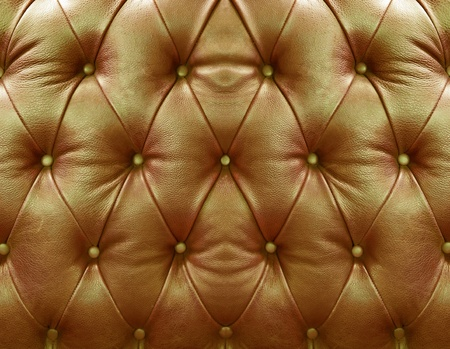 Golden upholstery leather pattern background photo