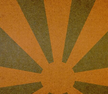 Vintage abstract sun rays on the grunge paper Stock Photo - 12811605