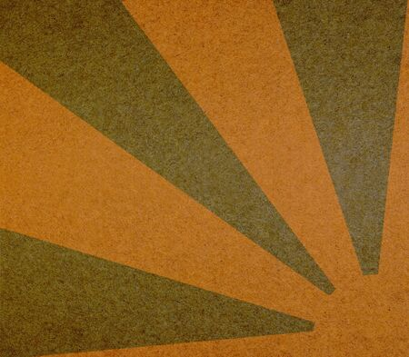 Vintage abstract sun rays on the grunge paper Stock Photo - 12811606