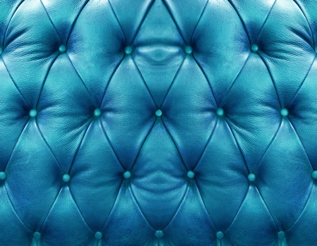 Blue upholstery leather pattern background photo