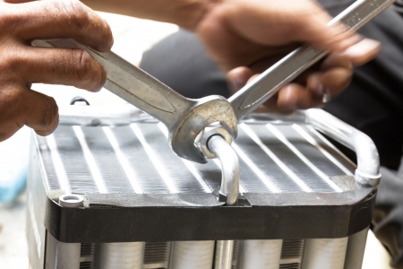 conditioning: Compressed air car components to be repaired