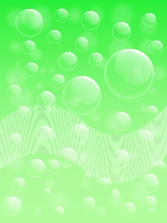 Background of Air bubble on a transparent surface Stock Photo - 21303356