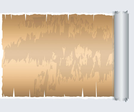 deterioration: Torn Paper with space for text with old paper background,Vector illustrator