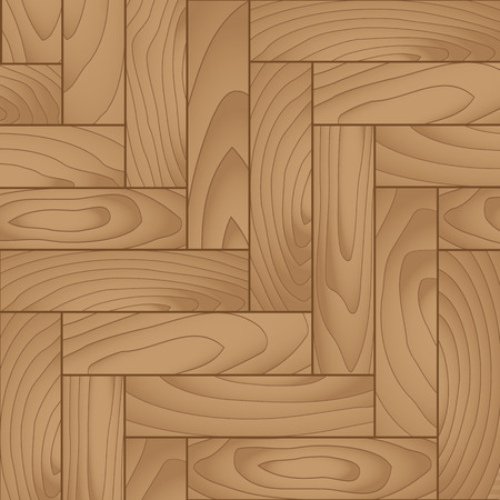 Seamless backgrounds of wooden parquet floor,Vector Illustration.