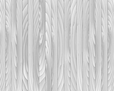 log wall: Vector wood plank gray for background, vector illustration Illustration