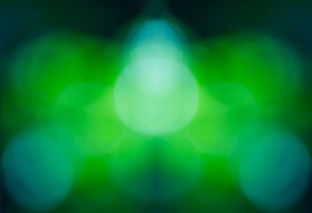 de focused: De focused abstract, Blurred lights bokeh abstract green background