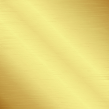 Gold polished metallic texture for background,Vector illustration Ilustração